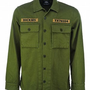 DICKIES SKJORTA - BRIDGEPORT ARMY