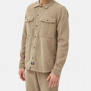 DICKIES SKJORTA - FORT POLK KHAKI
