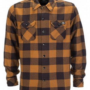 DICKIES SKJORTA - SACRAMENTO BROWN DUCKY 3 thumbnail