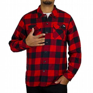 DICKIES SKJORTA - SACRAMENTO RED