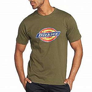 DICKIES T-SHIRT - HORSESHOE DARK OLIVE