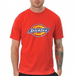 DICKIES T-SHIRT - HORSESHOE FIERY RED