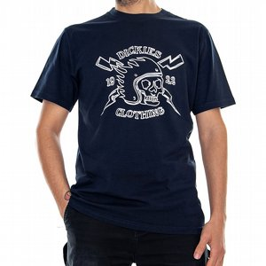 DICKIES T-SHIRT - POPLAR RIDGE NAVY