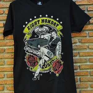 EIGHT MONDAY T-SHIRT - CUSTUM GIRL
