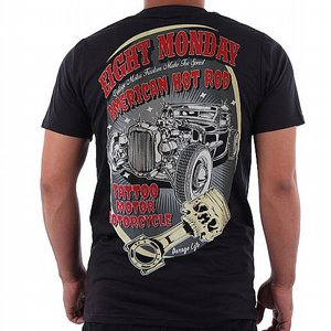 EIGHT MONDAY T-SHIRT - HOTROD