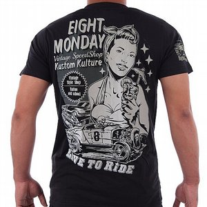 EIGHT MONDAY T-SHIRT - PINUP PARTY