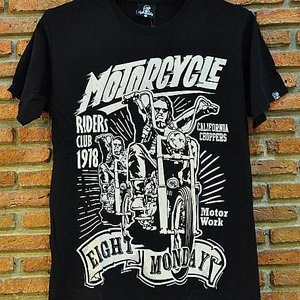 EIGHT MONDAY T-SHIRT -  RIDERS CLUB