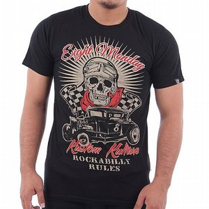 EIGHT MONDAY T-SHIRT - ROCKABILLY RACE