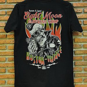 EIGHT MONDAY T-SHIRT - ROCKABILLY RUELS