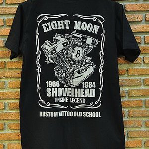 EIGHT MONDAY T-SHIRT - SHOVELHEAD