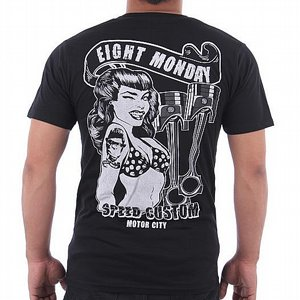 EIGHT MONDAY T-SHIRT - SPEED CUSTUM