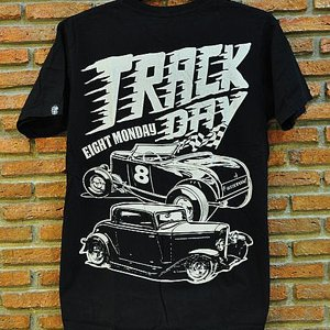 EIGHT MONDAY T-SHIRT - TRACK DAY