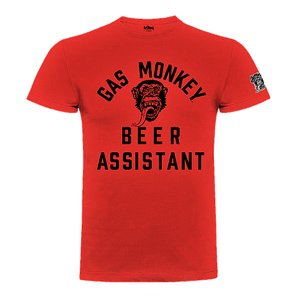 GAS MONKEY TEE - BEER MONKEY