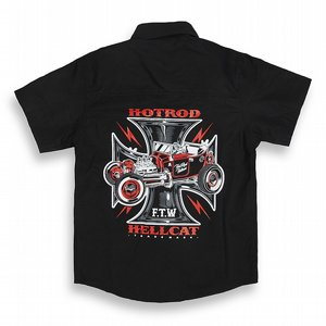 HOTROD HELLCAT BARN SKJORTA - IRON CROSS