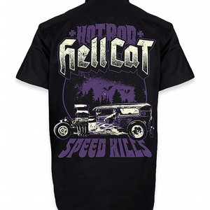 HOTROD HELLCAT SKJORTA - SPEED KILLS thumbnail