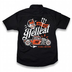 HOTROD HELLCAT SKJORTA - TO HELL AND BACK
