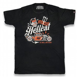 HOTROD HELLCAT T-SHIRT - HELL AND BACK