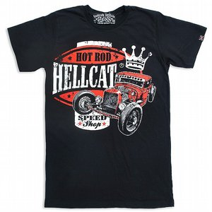 HOTROD HELLCAT T-SHIRT - KING ROD
