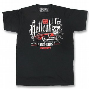 HOTROD HELLCAT T-SHIRT - MERCDESIGN