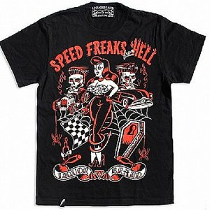 HOTROD HELLCAT T-SHIRT - SPEED FREAK HELL