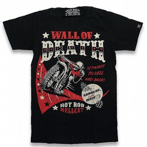 HOTROD HELLCAT T-SHIRT - WALL OF DETH