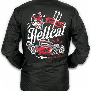 HOTROD HELLCAT VINDJACKA - TO HELL AND BACK
