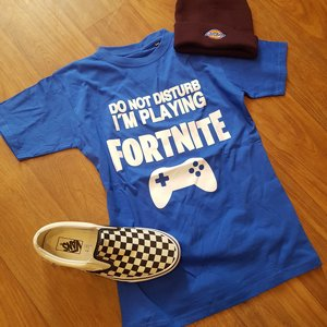 HUMOR T-SHIRT - FORTNITE