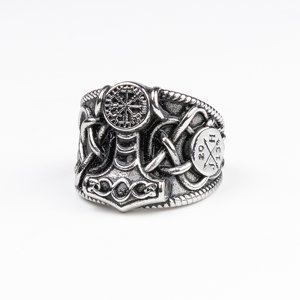 JERNHEST RING - BROR SILVER RING