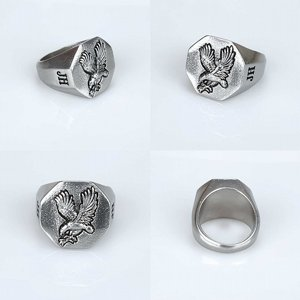 JERNHEST RING - ERNIE SILVER RING