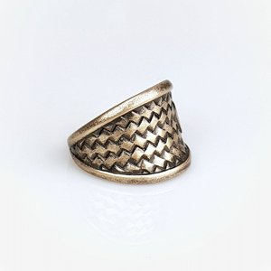 JERNHEST RING - FLORENCE BRASS RING 4 thumbnail