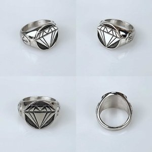 JERNHEST RING - GUSTAF SILVER RING