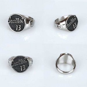 JERNHEST RING - LOYD SILVER RING