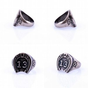 JERNHEST RING - WILBUR SILVER RING