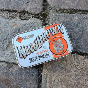KING BROWN POMADE - HEAVY HOLD PASTE POMADE