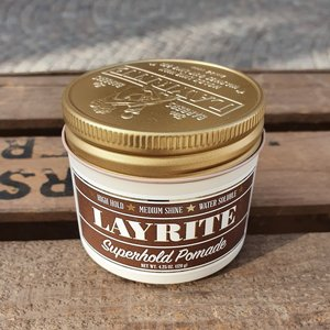 LAYRITE POMADE 120G - SUPERHOLD POMADE