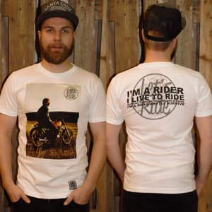 LETS RIDE T-SHIRT - GLANSING