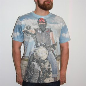 LETS RIDE T-SHIRT - MC BIKER