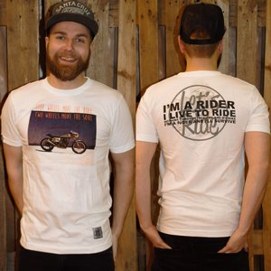 LETS RIDE T-SHIRT - TWO WHEELS