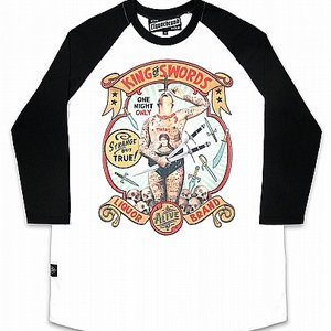 LIQOURBRAND BASEBALL TEE - KING OF SWORDS