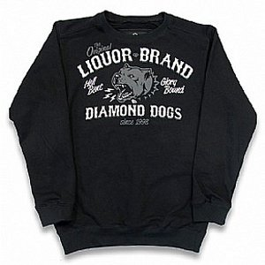 LIQOURBRAND CREWNECK - DIAMOND DOGS