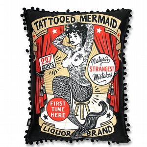 LIQOURBRAND KUDDE - TATTOOED MERMAID