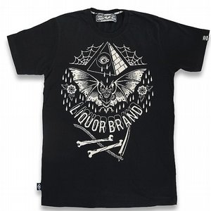 LIQOURBRAND T-SHIRT - BAT BONE