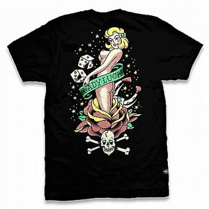 LIQOURBRAND T-SHIRT - LADY LUCK