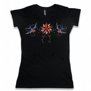 LIQOURBRAND T-SHIRT - NATICAL STAR
