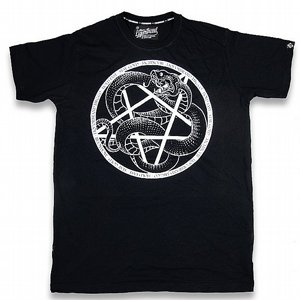 LIQOURBRAND T-SHIRT - SERPENT PENTAGRAM