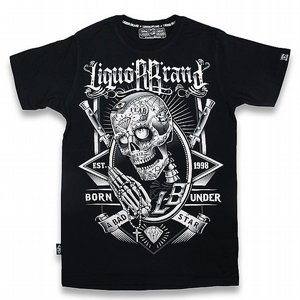 LIQOURBRAND T-SHIRT - SKULLY