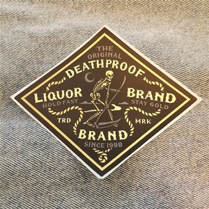 LIQUORBRAND STICKER - DEATHPROOF