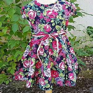 LITTLE FAIRY KIDS DRESS - DORIS CUTIE ROSA ROSOR 2 thumbnail