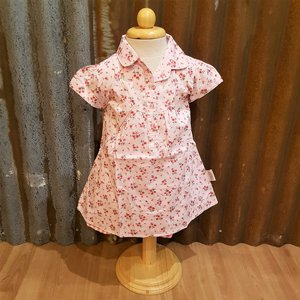 LITTLE FAIRY KIDS DRESS - ELLY ROS FLOWER ROSA