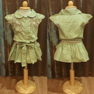 LITTLE FAIRY KIDS DRESS - HOLLY FLOWERS